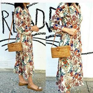 NWT Vintage Style Midi Dress